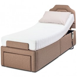 "Sherborne 2'6"" Dorchester Adjustable Bed - Zero Rated VAT"